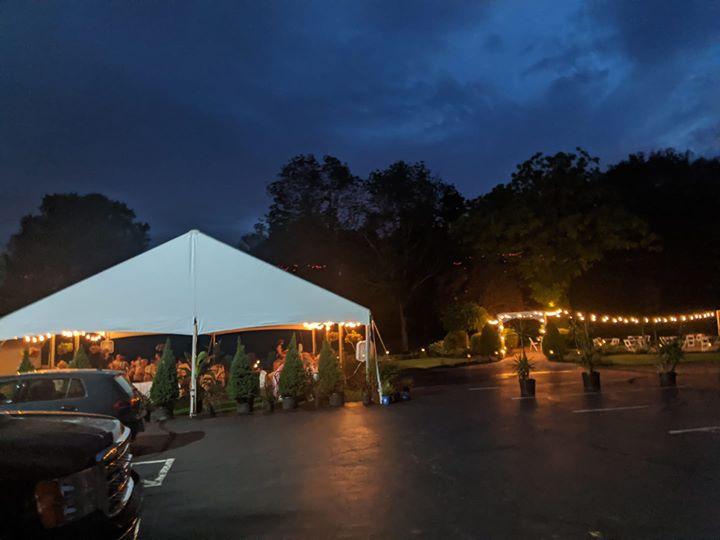 restaurant tents