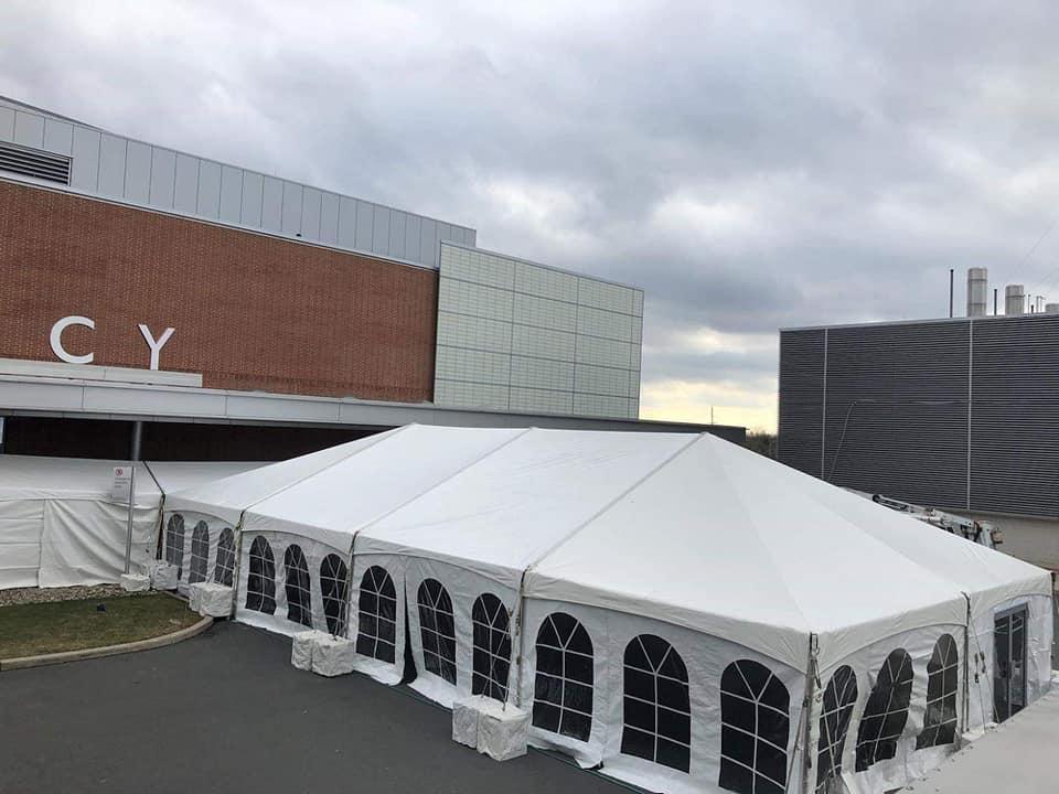 emergency hospital tents