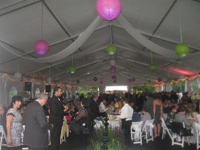 event tent rental wedding