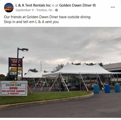 Tent Rental Company Morrisville PA