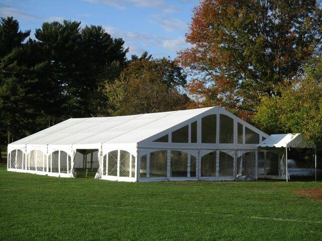 outdoor heated tent rental