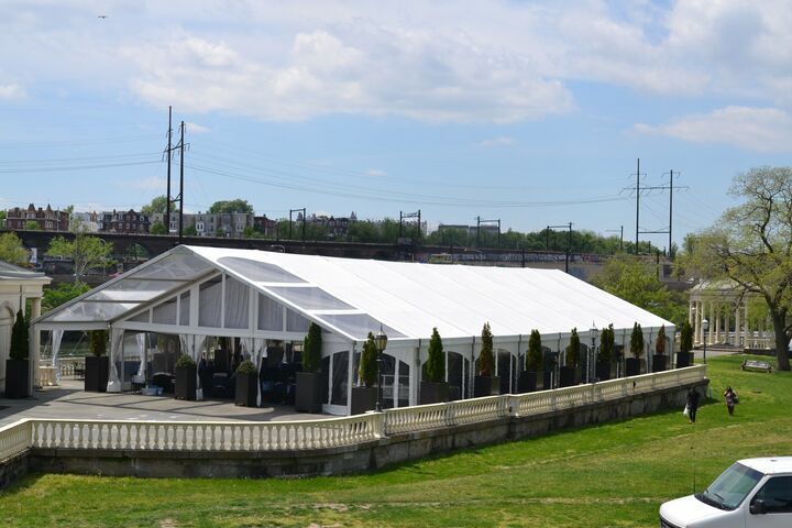 heated party tent rental