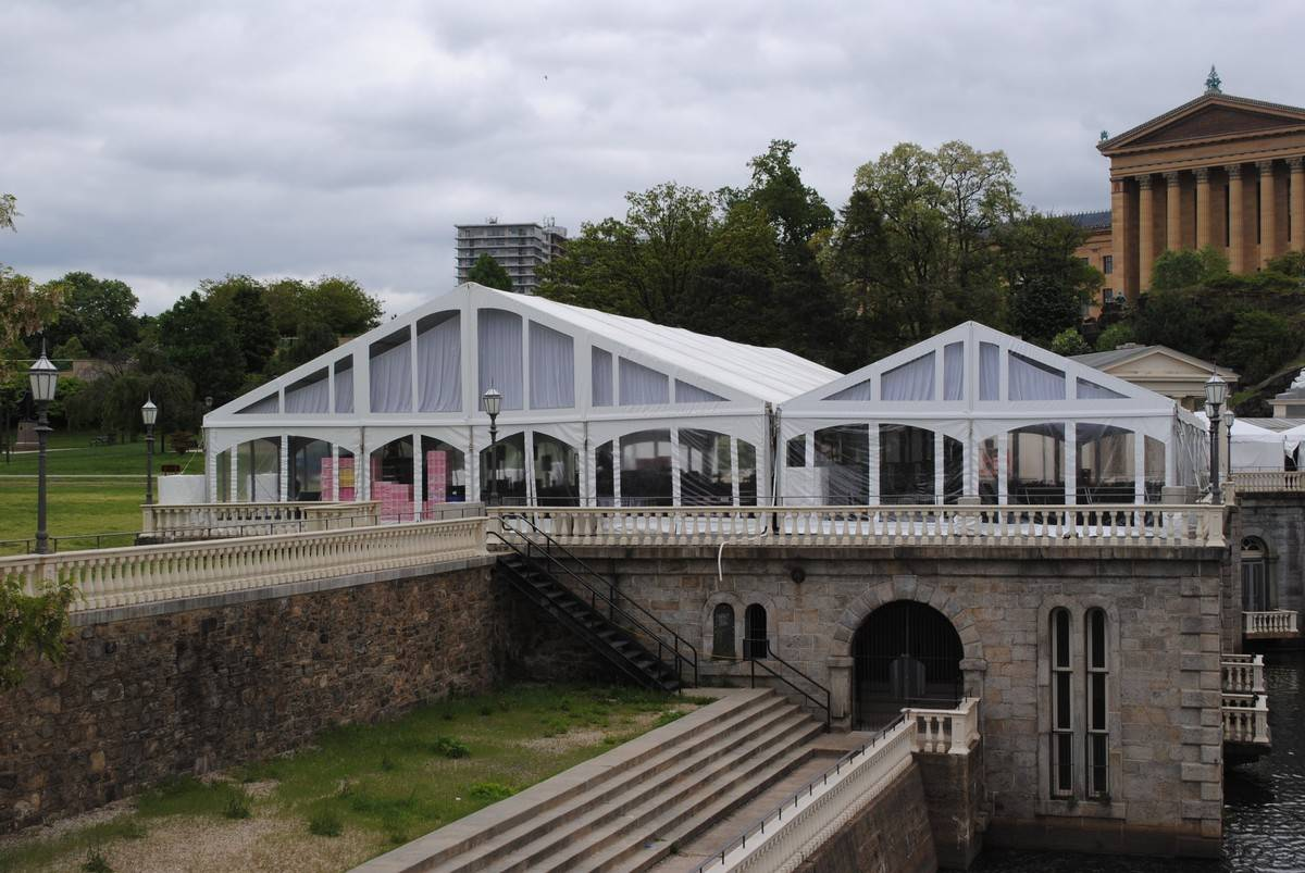 air conditioned tent rental